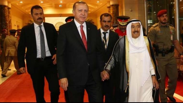 Cumhurbaşkanı Erdoğan böyle karşılandı!