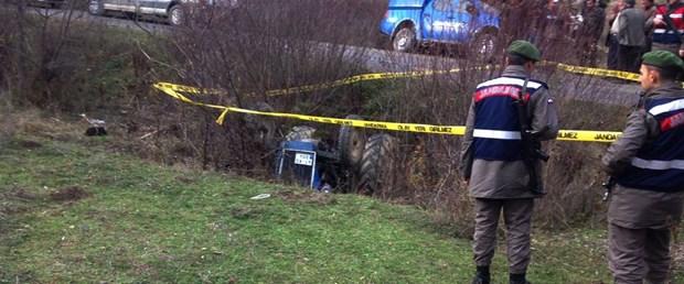 Kastamonu'da traktör devrildi: 1 ölü