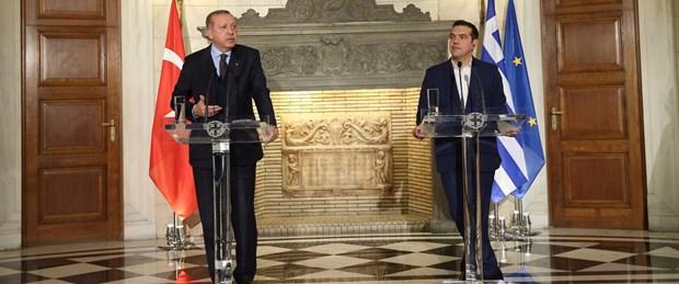 Erdoğan-Çipras görüşmesi sonrası açıklama