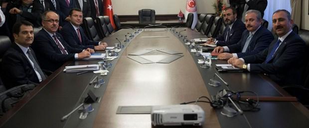 AK Parti ve MHP arasında İttifak toplantısı ilk kez yapıldı