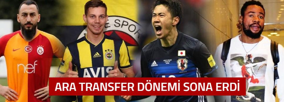 İşte Ara Transferde Süper Lig'e Damga Vuran Transferler