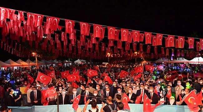 Diyarbakır 15 Temmuz şehitlerini andı