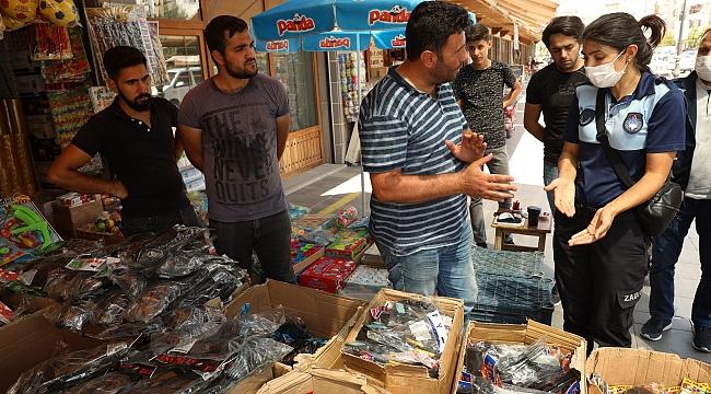 Diyarbakır'da bayram öncesi maytap ve çatapat denetimi