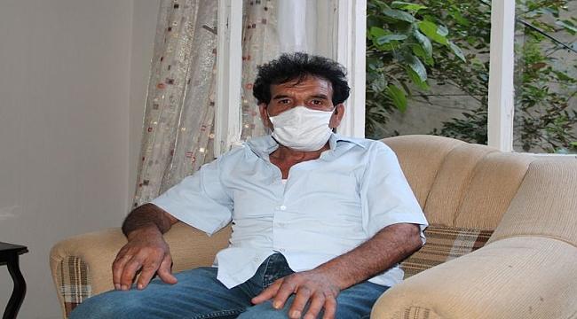Diyarbakır'da inşaat işçisi 8 aydır karanlıkta yaşıyor