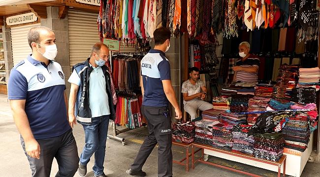 Diyarbakır'da Maske Mesafe ve Hijyen Denetimi