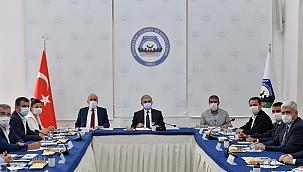 DTSO'dan Diyarbakır Valisi Sayın Münir Karaloğlu'na brifing