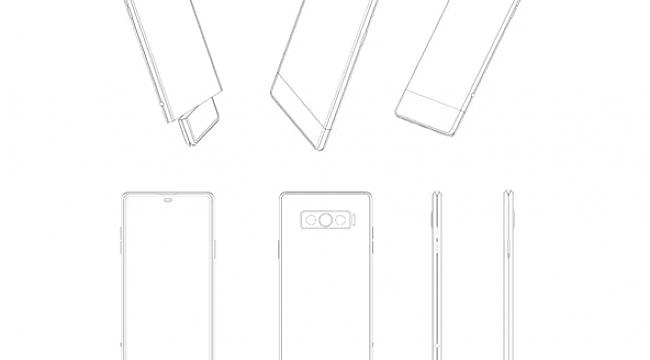 Vivo, 180 Derece Dönebilen İkinci Ekrana Sahip Bir Akıllı Telefon Patenti Aldı