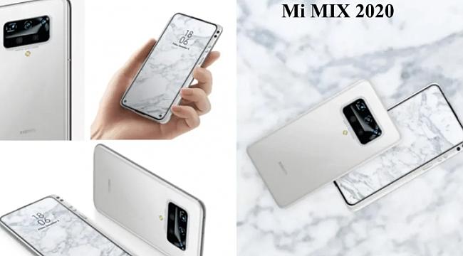 Xiaomi'nin Aldığı Patente Dayanarak Oluşturulan Mi Mix 2020 Konsepti