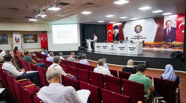Büyükşehir'de 'İş Sağlığı ve Güvenliği' toplantısı yapıldı
