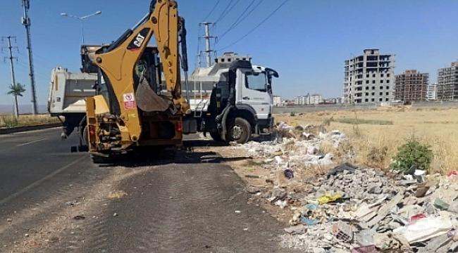 Büyükşehir hafriyat temizleme çalışması başlattı