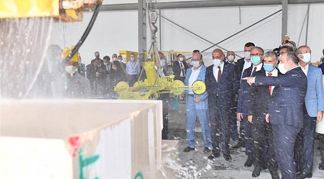 Diyarbakır'da Mermer Fabrikası Yeniden Üretime Başlıyor