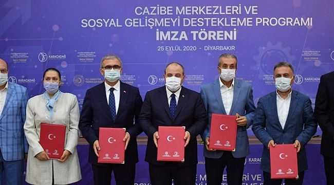 Sanayi ve Teknoloji Bakanı Mustafa Varank Diyarbakır'da