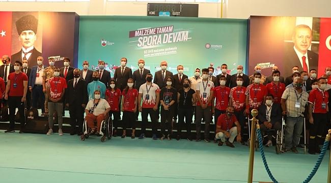 Büyükşehir Belediyesi'nden Amatör Spor Kulüplerine Büyük Destek