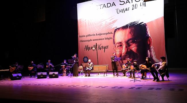 Ahmet Kaya vefatının 20. yıldönümünde anıldı