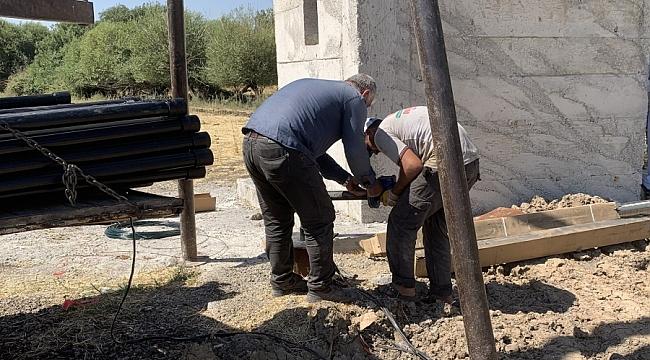 DİSKİ kırsal mahallelerdeki içme suyu sorunlarını anında çözüyor
