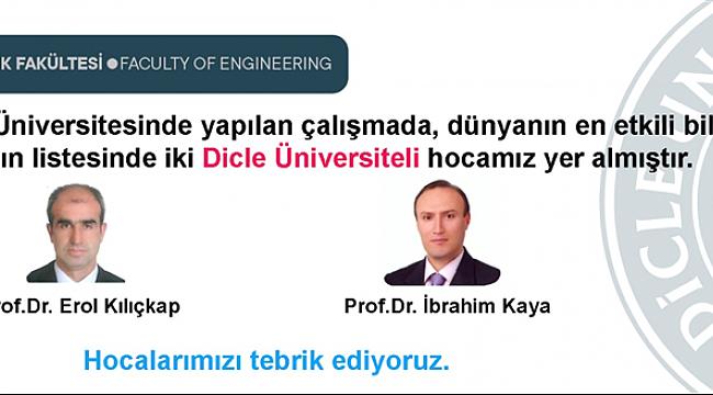 Dicle Üniversitesi'nden Dünya Geneli Başarı