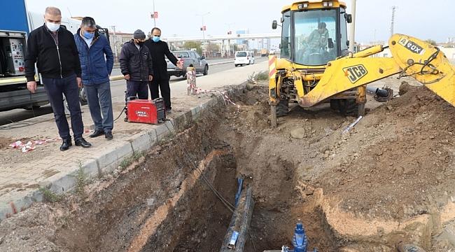 Diyarbakır'da içme suyu şebekeleri yenileniyor