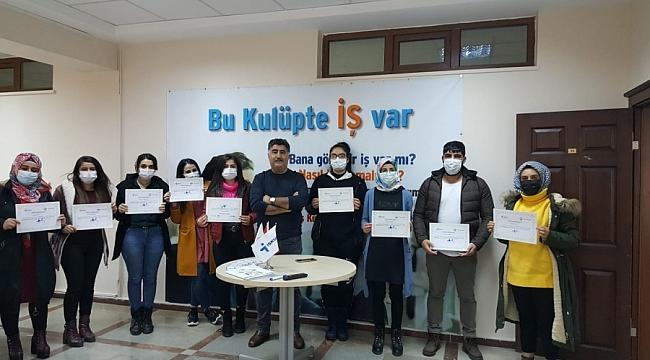 """Büyükşehir'den kursiyerlere """"İş Kulübü"""" eğitimi"""
