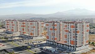 Kayseri'de 336 ailenin ev heyecanı