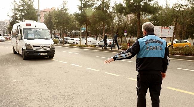 Büyükşehir Zabıta'dan Minibüslere Ücret Tarifesi Denetimi