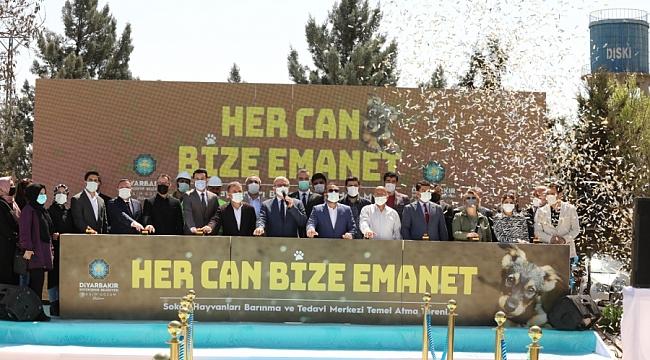 Diyarbakır'da Hayvan Bakımevi ve Rehabilitasyon Merkezi'nin temeli atıldı