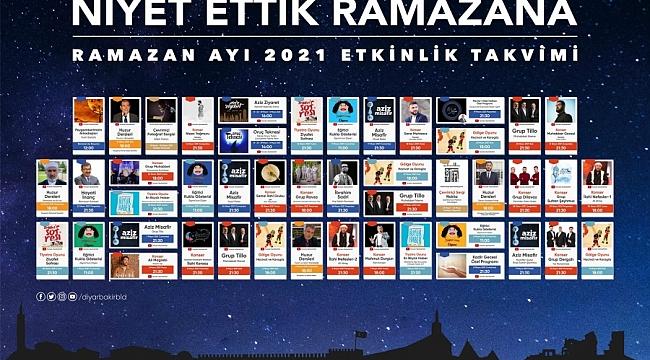 Diyarbakır'da Ramazan dolu dolu geçecek