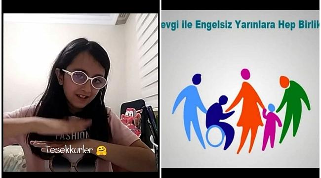 Öğrenciler Engelliler Haftası'nı kutladı